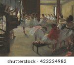 The Dance Class  By Edgar Dega...