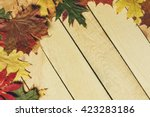 Autumn Leaves Background.  ...