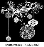 Grungy Christmas Design  Vector