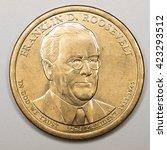 Us Gold Presidential Dollar...