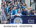 Small photo of Bangkok, Thailand - May 19,2016 - Leicester City Football Club celebrates First Championship of English Premiere League 2015-16