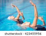 Synchronized Swimming Duet...