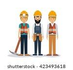 professional men design  | Shutterstock .eps vector #423493618