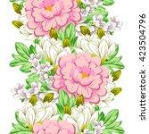 abstract elegance seamless... | Shutterstock .eps vector #423504796