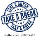 Take A Break. Stamp