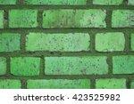 Beautiful Green Colorful Wall...
