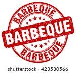 barbeque. stamp | Shutterstock .eps vector #423530566