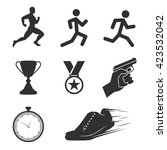 Run Competition Icons