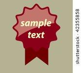 label   Shutterstock .eps vector #42355858