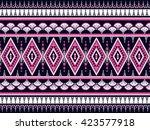 geometric ethnic oriental... | Shutterstock .eps vector #423577918