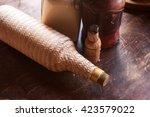 traditional brazilian cachaca....   Shutterstock . vector #423579022