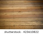 the brown old wood texture with ... | Shutterstock . vector #423610822