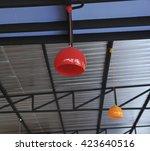 modern ceiling light | Shutterstock . vector #423640516