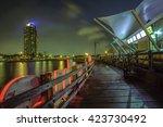 jakarta city  indonesia | Shutterstock . vector #423730492