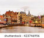 amsterdam  netherlands   june 1 ... | Shutterstock . vector #423746956