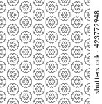 seamless islamic pattern in... | Shutterstock .eps vector #423772948