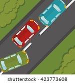classic cars design  | Shutterstock .eps vector #423773608