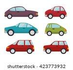 classic cars design    Shutterstock .eps vector #423773932