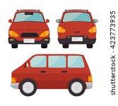 classic cars design  | Shutterstock .eps vector #423773935