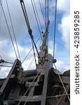 segelschiff   sailing ship | Shutterstock . vector #423859285