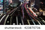 Bird View Of Tokyo Station Wit...