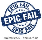epic fail. stamp | Shutterstock .eps vector #423887452