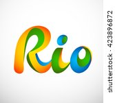 Sign Symbol Rio Olympics Games...