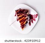 sweet dessert cheesecake | Shutterstock . vector #423910912