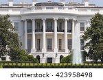 the white house   Shutterstock . vector #423958498