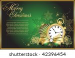 green beautiful background  for ... | Shutterstock .eps vector #42396454
