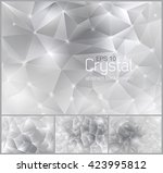 Crystal Abstract Background....