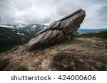 Mountain Landscape With Trail...