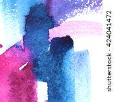 macro watercolor background... | Shutterstock . vector #424041472