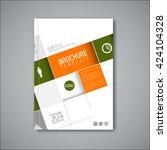 modern brochure template. | Shutterstock .eps vector #424104328