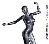 3d rendered illustration of... | Shutterstock . vector #424110406