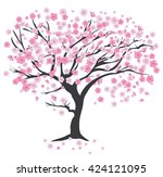 vector illustration of a cherry ...