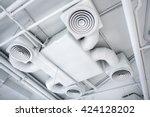 ventilation system | Shutterstock . vector #424128202