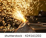 Small photo of metal cuting gas with acetylene troch