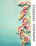 glorious flowers bunch on... | Shutterstock . vector #424205512