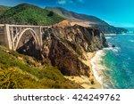 Bixby Creek Bridge On Pacific...