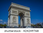 paris  france   sep 25  2015  ... | Shutterstock . vector #424249768