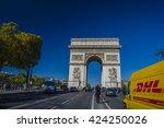 paris  france   sep 25  2015  ...   Shutterstock . vector #424250026