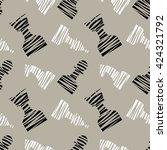 seamless vector chaotic pattern ...   Shutterstock .eps vector #424321792