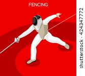 Fencing Player Athletes 2016...
