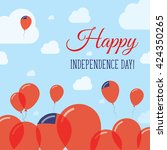 samoa independence day flat...   Shutterstock .eps vector #424350265