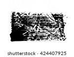 handpaint ink texture background   Shutterstock . vector #424407925