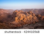 view from mount moses at mount... | Shutterstock . vector #424410568