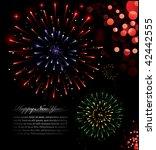 illustration of exploding... | Shutterstock .eps vector #42442555
