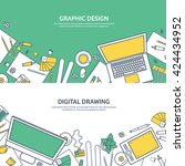 graphic web design illustration....
