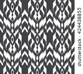 modern ethnic seamless pattern... | Shutterstock .eps vector #424438855